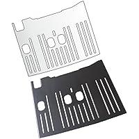 3 x Schutzfolie für DeLonghi Dinamica ECAM 350.35 / 350.15 - Abtropfblech - Tassenablage - Abstellblech