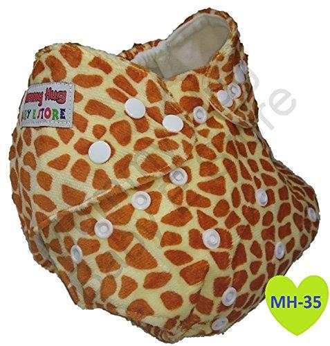 Mummy Hug® New Baby waschbar wiederverwendbar Taschenwindel Bezug rutschsicher Einsatz Hohe Qualität + Gratis Einsatz