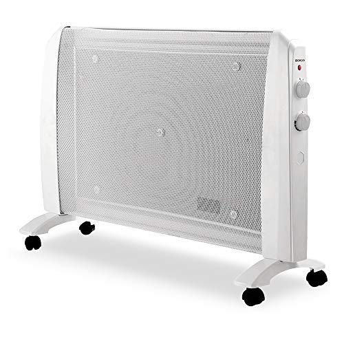 SOGO SS-18440 Radiador de Mica Bajo Consumo, Calefactor Eléctrico Portátil, Calefacción Eléctrica...