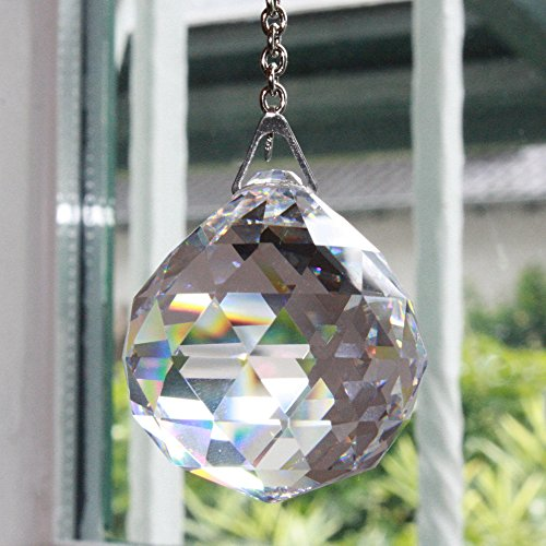 kristallkugel 30 mm 3 st ck 30 bleikristall regenbogenkristall kristall kugeln zum. Black Bedroom Furniture Sets. Home Design Ideas