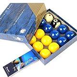 Exclusiv! Super-Aramith-blaue und gelbe Billardkugeln PRO