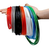 Filamento PLA 1.75 mm, Filamento ERYONE PLA, 8 colores, filamento PLA para impresión