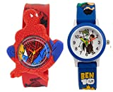 S S TRADERS -Cute Blue Ben10 Round Red D...