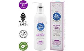 The Moms Co. Natural Baby Lotion | Australia-Certified Toxin-Free | Organic Apricot, Jojoba and Rice Bran Oils (200 ml)
