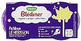 Blédina Blédiner Légumes du Potager et Pâtes Étoile dès 12 Mois 2 x 200 g - Lot de 4