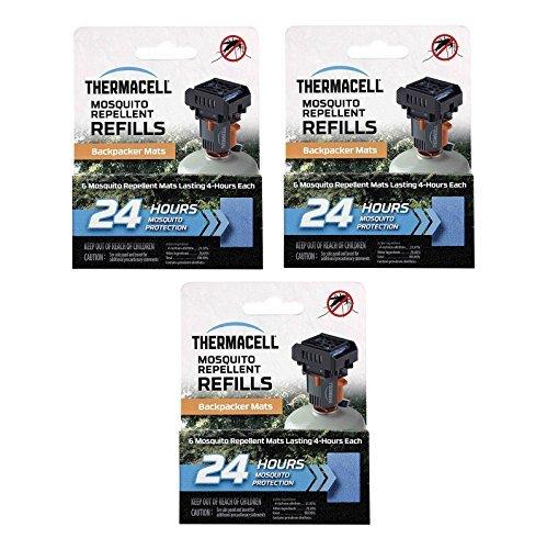 Thermacell Handgerät 72Stunden Matte Nur Nachfüller (Drei m-24's) für mr-BP Backpacker Nagetierrepeller -