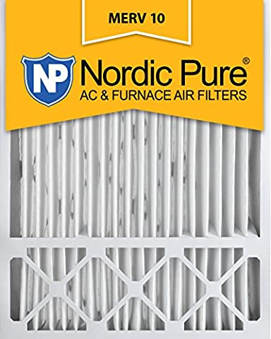 Nordic Pure 20x25x5, MERV 10, Honeywell Replacement Air Filter, Box of 1 by Nordic Pure