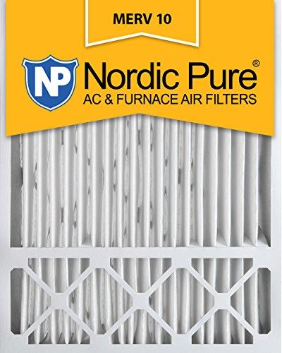 Nordic Pure 20x 25x 5, Merv 10, Honeywell Ersatz-Luftfilter, Box von 1 (Filter Merv Honeywell 10)