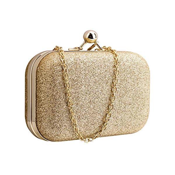 512D6xH4klL. SS600  - Bolsos para Mujeres, Sasairy Bling Vintage cuero Bolsos Bolsas de mensajero Bolsos de hombro Casual CrossBody para…