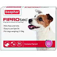 Beaphar FIPROtec Spot on Small Dog 6 Pipettes