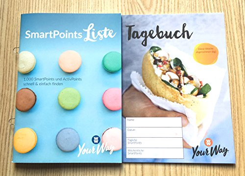 Charmate® Beauty Set //Gesichtspflege// Weight Watchers SmartPoints Liste PROGRAMMSTART SET + Tagebuch - Your Way Zero SmartPoints® Plan / 2018