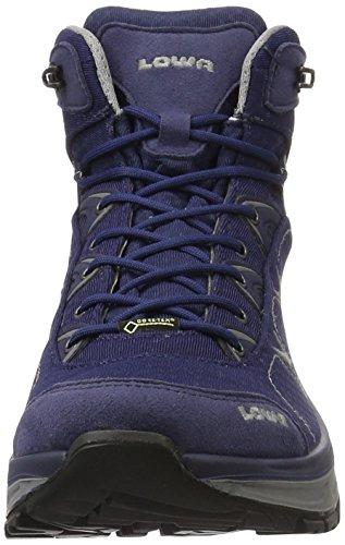 Lowa Ferrox Gtx, Chaussures de Trekking et Randonnée Homme Grau (Navy/Graphit)