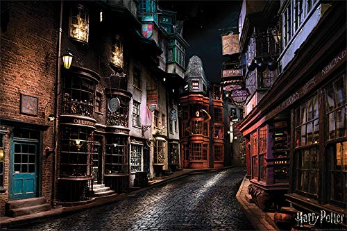 Wizarding World Harry Potter-Diagon Alley Maxi Póster