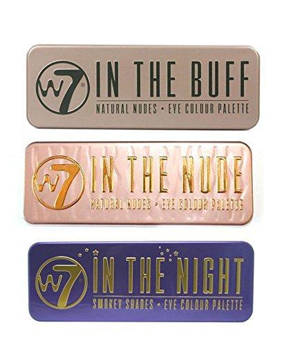W7naturale nudi Eye Palette di colori (W7nel Buff + nella