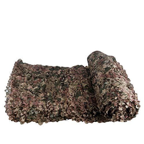 DYFYMXParasol Filet camouflage CP camouflage fleur coupée filet (Couleur : A, taille : 1.5 * 5M)