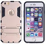 Casefashion® Funda Resistente al Impacto Antideslizante Ligera con Soporte para Apple iPhone 5C Carcasa Protectora Antigolpes Anticaída Protector Case Cover - Oro Rosa