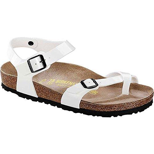 BIRKENSTOCK - Weiße Sandale aus Ökologischem Leder, Korkinnensohle, Unisex Kinder, jungen, Mädchen, Damen, Herren-24