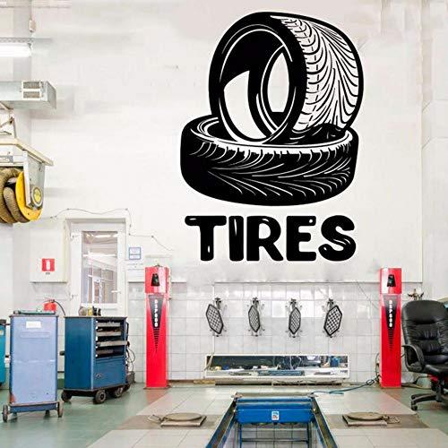 enster Aufkleber Benutzerdefinierte Vinyl Aufkleber Reparatur Auto Station Zeichen Garage Wanddekorationen Abnehmbare Art Decor 57 * 59 Cm ()