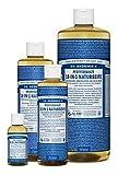 Dr. Bronner´s Naturseife Pfefferminz 18-in-1 Magic Soap natürliche Flüssigseife aus biologischem Anbau, vegan, keine Zusatzstoffe, Fair Trade zertifizierte Bioseife (1x60ml)