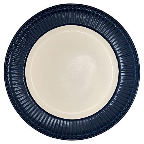 Dinner Plate, Alice Dark Blue von GREENGATE Blue Plate