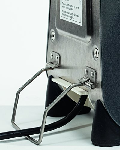 Hamilton Beach HMD200-UK Commercial Drinks Mixer for Milkshakes and Frappes, 300 Watt, Silver