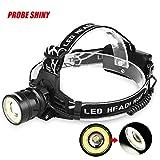 5656YAO Y56-Probe Shiny 3000LM T6+ COB LED Zoom, wiederaufladbar, mit Scheinwerfer Taschenlampe Taschenlampe Multifunk