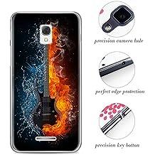 Silicona Funda para Alcatel One Touch Pop Star 3G 5022D Carcasa Trasera para Alcatel One Touch Pop Star 3G 5022D (5,0 pulgadas)Cubierta de Excelente Absorción de Golpes, TPU Case de Alta Resistencia y Flexibilidad