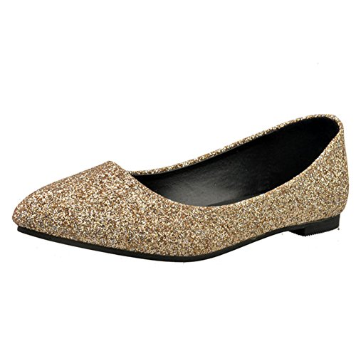 Chaussures pointues fashion Lady leisure/Plat/Chaussures féminines plat coréen B
