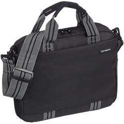 Samsonite V7609001 - Bolso para portátil de hasta 12,1'', color negro