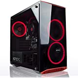 XOTIC PC Gamer's Choice AMD Gaming Desktop PC - Quad Core 3.6GHz AMD Ryzen 5 2400G | Radeon RX Vega 11 Graphics | 16GB DDR4 RAM | 250GB SSD | 1TB HDD | Windows 10 | 3 Year Parts Warranty