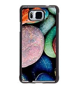 Fuson Designer Phone Back Case Cover Samsung Galaxy Alpha :: Samsung Galaxy Alpha S801 :: Samsung Galaxy Alpha G850F G850T G850M G850Fq G850Y G850A G850W G8508S :: Samsung Galaxy Alfa ( Painted Pebbles )