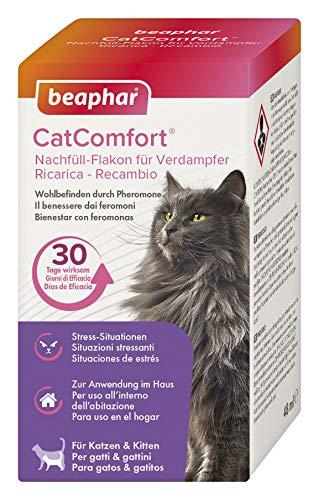 beaphar CatComfort Nachfüll-Flakon für Verdampfer, Beruhigungsmittel für Katzen mit Pheromonen