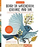 #6: Geninne's Art: Birds in Watercolor, Collage, and Ink: A field guide to art techniques and observing in the wild (Gennies Art)