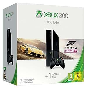 Microsoft Xbox 360 500GB + Forza Horizon 2 - game consoles (Xbox 360, DDR3, IBM PowerPC, HDD, DVD, 802.11b, 802.11g, 802.11n)