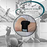 Tennis Elbow/Lateral Epicondylitis Brace - hypoallergenic safe on sensitive skin, avoiding rash. Helping professionals stay game ready, ONE SIZE easy fit, reversible L or R, UNISEX.