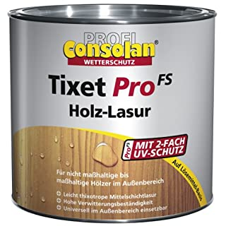 Consolan Profi Tixet Pro FS Holzlasur RM weißbuche 5 Liter