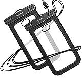 UGREEN wasserdichte Handyhülle 2 Stück Handy Tasche wasserfest Handy Hülle kompatibel mit iPhone...