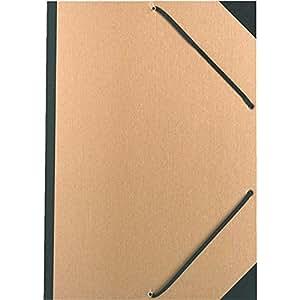 Carton a dessin kraft naturel avec elastiques 32x45cm a3 exacompta fournitures de - Carton a dessin a3 ...