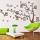 Xqi wangpu Gran árbol genealógico para Siempre Marco de Fotos Etiqueta de la Pared Sala de Estar Dormitorio Tatuajes de Pared decoración de la Boda niños Nursery Poster Mural 60x90cmx2