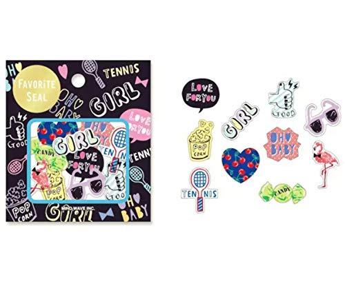 70pcs Set Mädchen Flamingo Candy Sonnenbrille-Papier Pvc-Karikatur-Aufkleber Handwerk Aufkleber Resin Scrapbooking Diy Kawaii Tagebuch Planner Kugel
