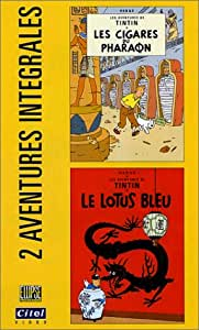 Les Aventures de Tintin : Les Cigares du Pharaon / Le Lotus bleu [VHS]