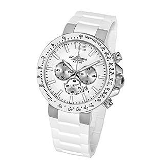 Jacques-Lemans-Herren-Chronograph-Quarz-Smart-Watch-Armbanduhr-mit-Silikon-Armband-1-1696B