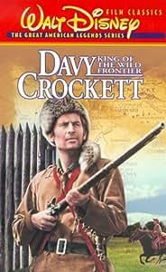Davy Crockett: King of Wild Frontier [VHS] [Import]