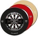 Bulls adultos Quarter Back EVA Dart tarjeta Surround, color crema, 1