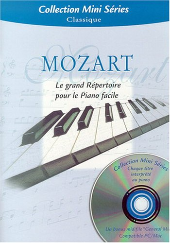 Mozart : collection Mini Series (+ 1 CD) - piano