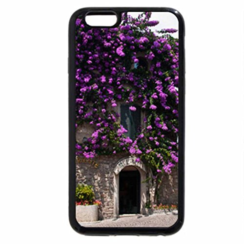 iPhone 6S / iPhone 6 Case (Black) bouganwillea