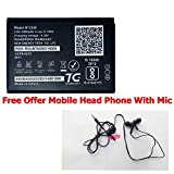 Brand New OEM Replacement H12348 Battery for Reliance Jio WiFi 4G Router Jiofi2 m2(Free Offer Head Phone with Mic) Original Quality Product Sold by TOS
