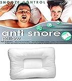 KLAZE Anti Snore Pillow Non Allergic Headache Relief Snooze Control Great Silent Night