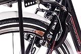 CHRISSON 28″ Zoll CITYRAD ALU Fahrrad E-Bike PEDELEC E-Gent mit 7G Shimano Schwarz 53cm- 71,1 cm (28 Zoll) - 7