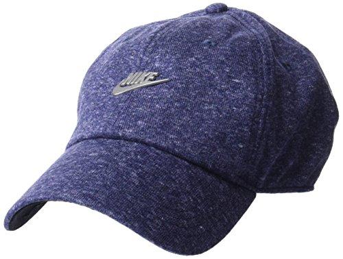 Nike u nsw h86cap metallo futura berretto, uomo, uomo, 891287-471, blu (argento tuono/nero/argento opaco), misc